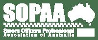 SOPAA Logo White